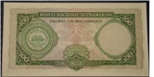 Banknote from Mozambique