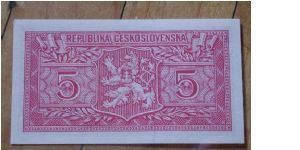 Banknote from Czech Republic