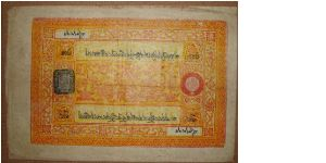 Pulp paper. Banknote