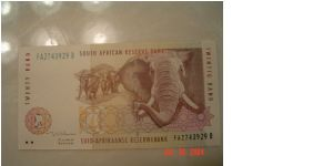 South Africa P-124 20 Rand 1999 Banknote