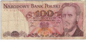 Sto (100) zlotych Banknote