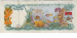 Banknote from Bahamas