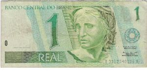 1 Real Banknote