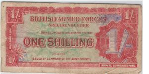 1 Shilling Banknote