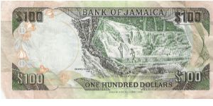 Banknote from Jamaica