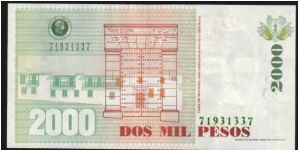 Banknote from Colombia