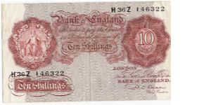 10 Shillings Banknote