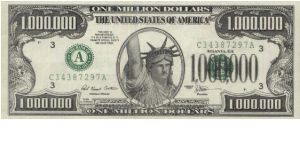 One Million Dollars This Note Is Non Negotiable Its Sole Purpose Is To Promote