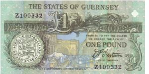 Guernsey £1 note