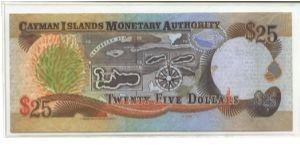 Banknote from Cayman Islands
