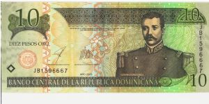Dominican Republic 2003 10 peso. Special thanks to Yumi-chan! Banknote