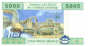 Banknote from Central African Republic