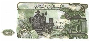 Banknote from Algeria