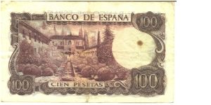 Banknote from Spain