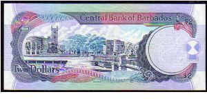 Banknote from Barbados