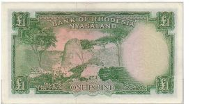 Banknote from Rhodesia