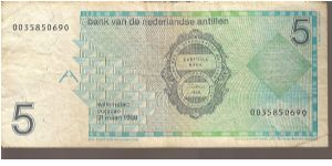 Banknote from Netherlands Antilles