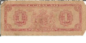 Banknote from Curacao