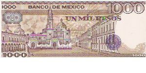 Banknote from Mexico