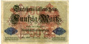 State Loan currency note 