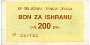 Zenica  200d Yellow/Green