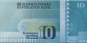 Banknote from Finland
