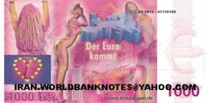 1000 EURO (SEXY CLUB) Banknote
