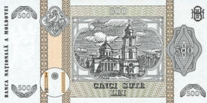 Banknote from Moldova