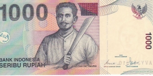 Indonesia 1000 Rupiah. Banknote for SWAP/SELL. SELL PRICE IS: $0.5 Banknote