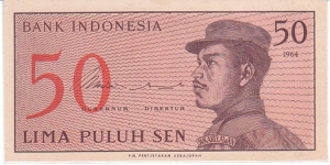 Indonesia 50 Sen. Banknote for SWAP/SELL. SELL PRICE IS: $1.0 Banknote