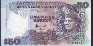 50 RINGGIT SIGNED BY AHMAD DON Banknote
