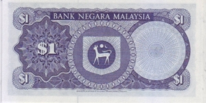 Banknote from Malaysia