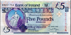 BANK of IRELAND (ULSTER)