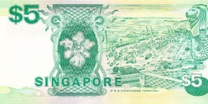 Banknote from Singapore