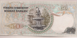 Banknote from Turkey