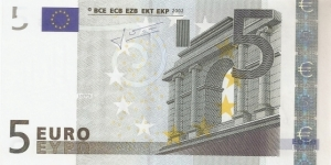 5 Euro Banknote