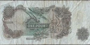 Banknote from United Kingdom