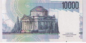 Banknote from Italy