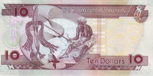 Banknote from Solomon Islands