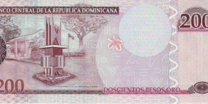 Banknote from Dominican Republic