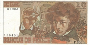 10 Francs Berlioz Banknote