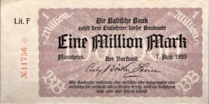 1 Million Marks
