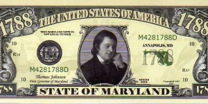 1788 State of Maryland__ pk# NL__ (ACC American Art Classics)__ Not Legal Tender  Banknote