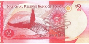 Banknote from Tonga