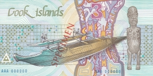 Banknote from Cook Islands