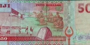 Banknote from Fiji