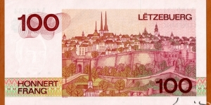 Banknote from Luxembourg