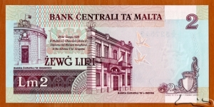 Banknote from Malta