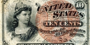 Fractional 10 Cents Banknote