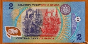 Banknote from Samoa